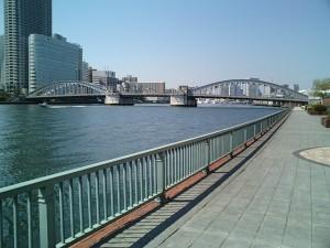 私は、時折、「心の浄化」を図るために、自宅からすぐそばの隅田川に行き、川の水の流れを見ながら散歩します。水の流れは、心の中で「一秒一秒」を刻みながら静観します。