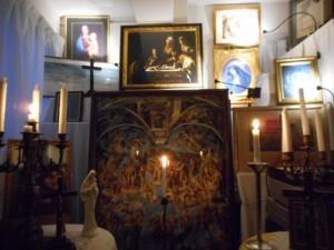 2017年11月18日(土)を迎えた静寂、且つ、神聖なる英知の空間、銀座書斎、「奥の聖域」。